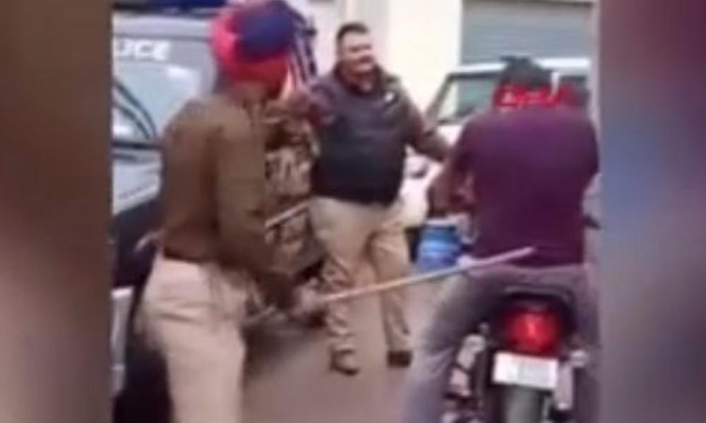 Hint polisinden yasağı ihlal edenlere meydan dayağı