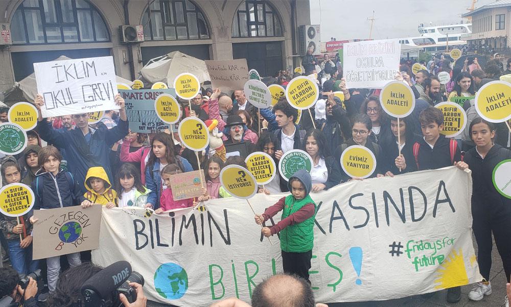 Türkiye'nin ilk dijital iklim grevi buluşması!