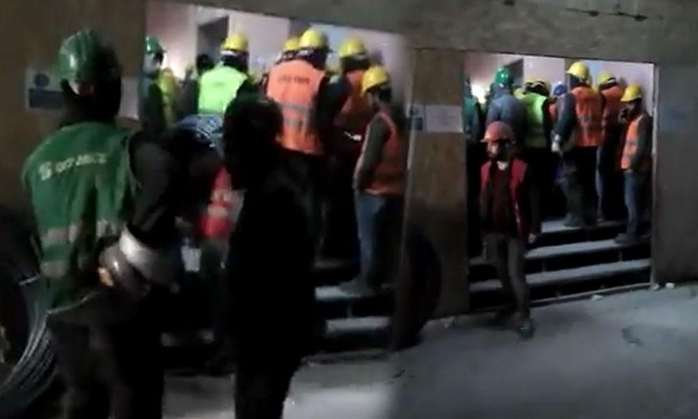 Emaar Şantiyesi'nde şirket, çalışanları için hiçbir önlem almıyor