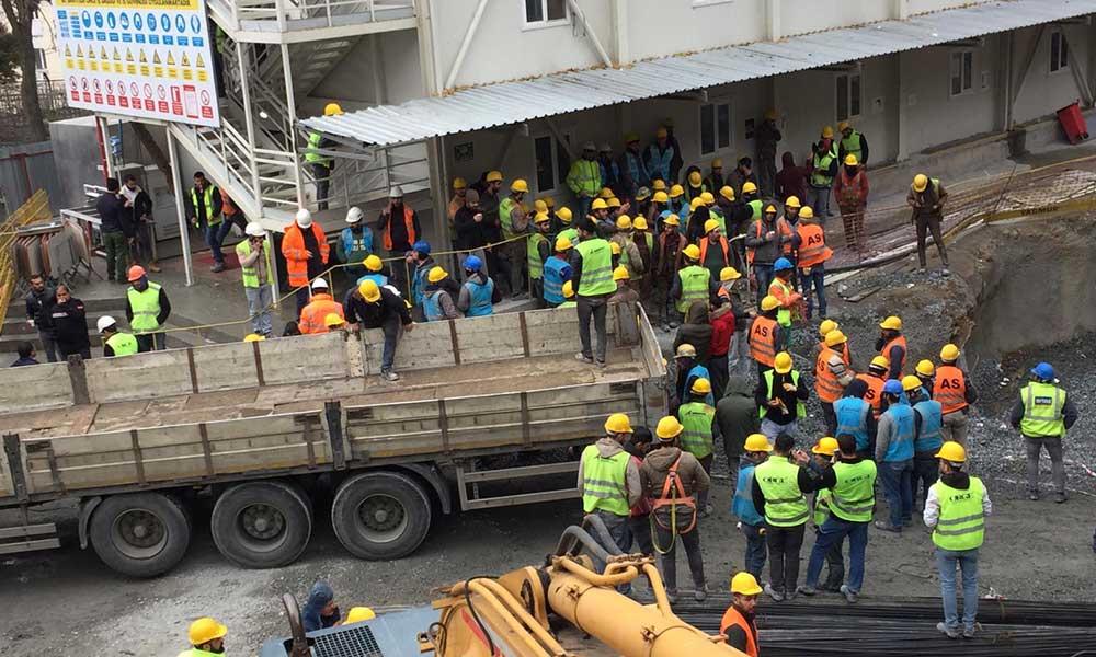 İşçiler evde kalamıyor: Şantiyelerde çalışma devam, Bakanlık'tan yeni kılavuz