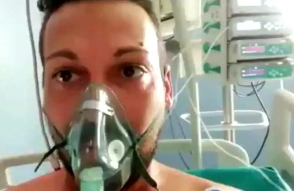 İtalyan vatandaşı, yoğun bakımda yaşadıklarını anlattı: Nefes alamıyorum