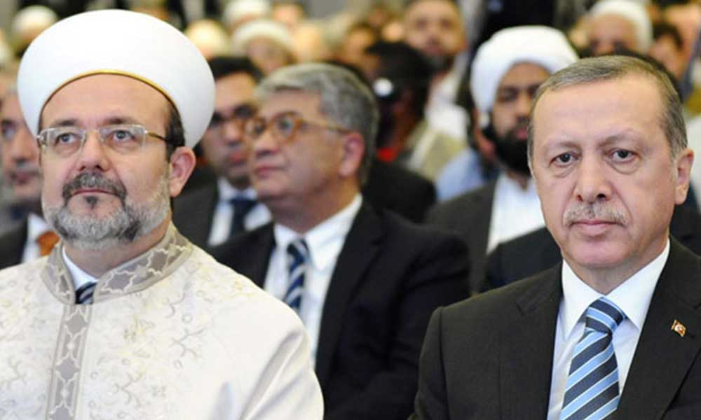 Diyanet'ten Erdoğan'a özel Cuma Namazı