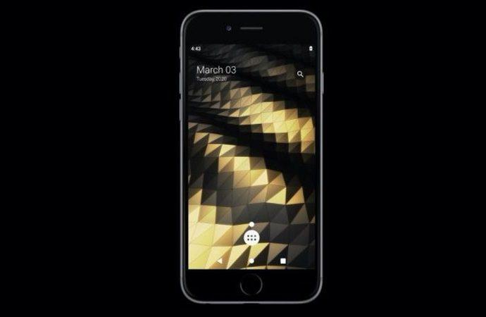 Jailbreak sayesinde Android'i iPhone üzerinde kullanın