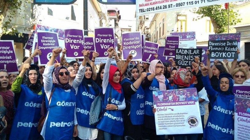 Kadın işçilerin yüzde 93'ü sendikasız!