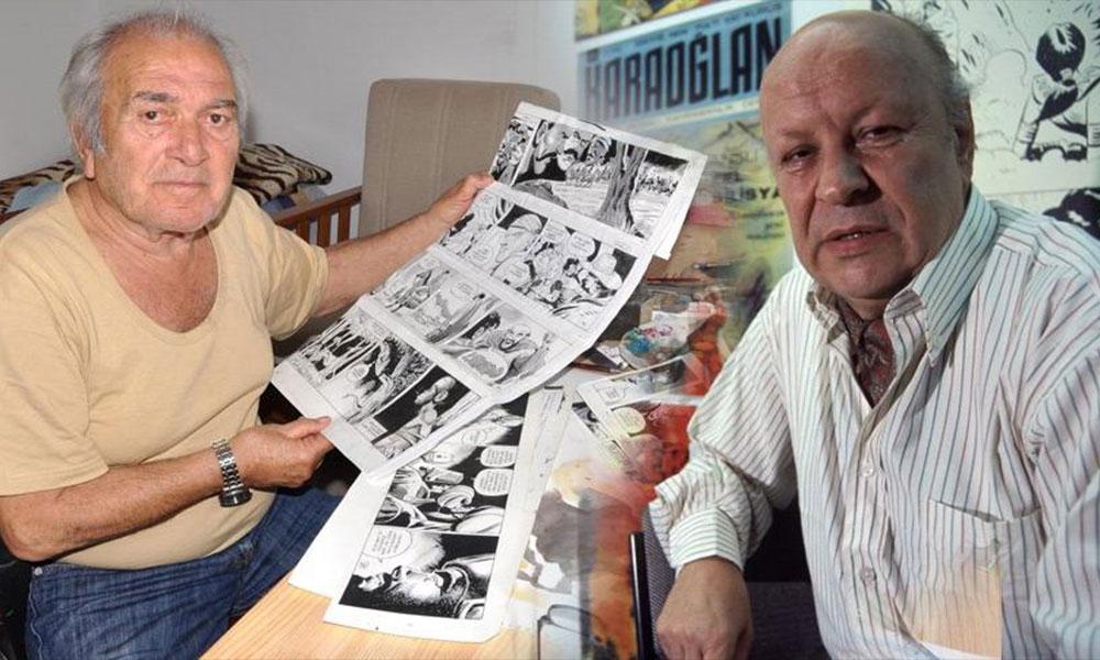 Karaoğlan'ın çizeri Suat Yalaz ve Kara Murat'ın çizeri Abdullah Turhan aynı gün hayatını kaybetti
