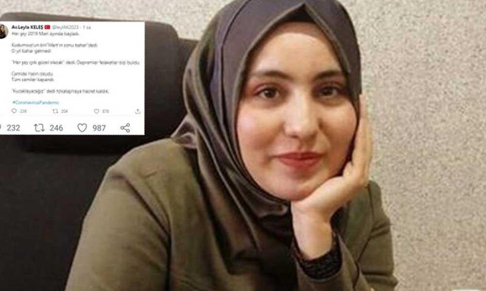 AKP'li meclis üyesi koronavirüsü Ekrem İmamoğlu'na bağladı