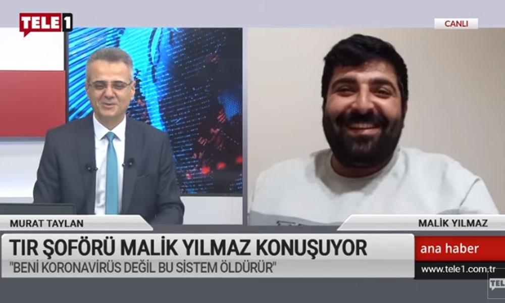 İşten çıkarıldığını açıklayan TIR şoförü Malik Yılmaz'dan, Soylu'ya cevap!