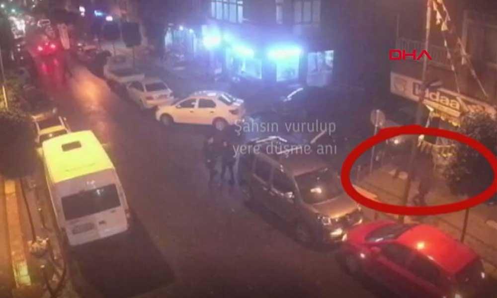 Fenerbahçe'nin tribün liderinin vurulma anına ait görüntüler ortaya çıktı
