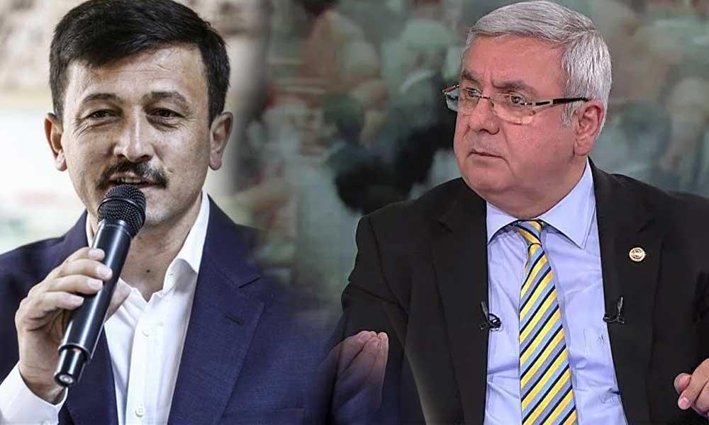 AKP'li Metiner ve Dağ birbirine girdi: Takdir Reis'indir
