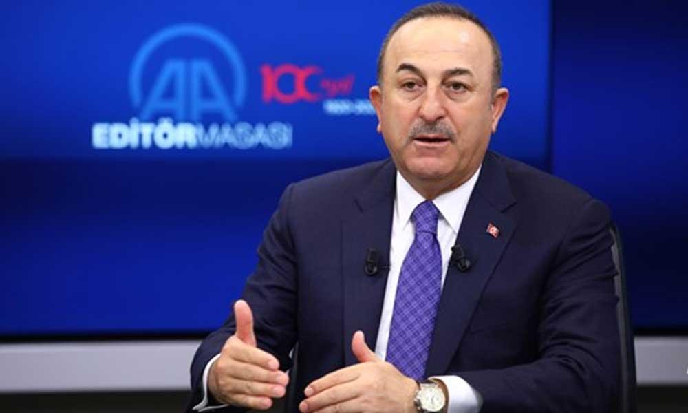 Dakika tutmuşlar… Çavuşoğlu'ndan 'Türk heyetinin bekletilmesi' açıklaması