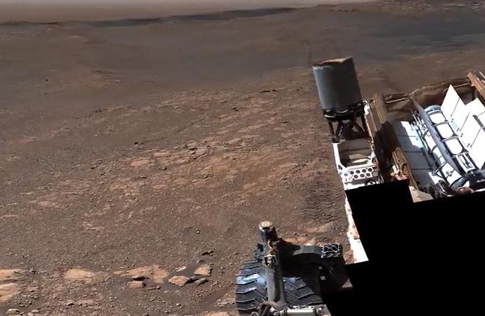 Mars'ta çekilen 'en detaylı panoramik görüntü' yayınlandı