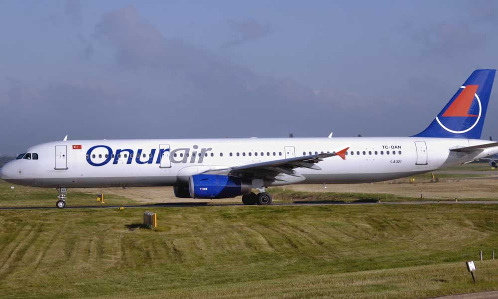 Onur Air'in uçakları icralık oldu
