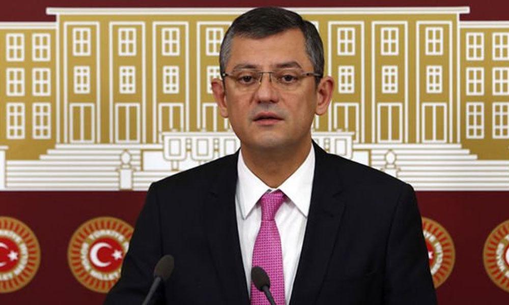 CHP'li Özel: AKP ve MHP'yi biz ikna edemedik ama Koronavirüs etmiş