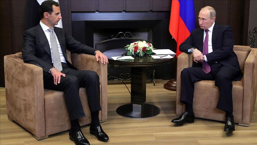Putin ve Esad arasında 'Türkiye' görüşmesi