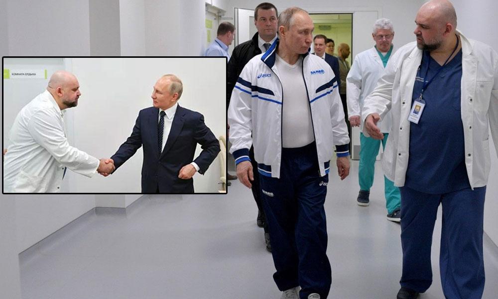 Putin ile görüşen başhekim koronavirüse yakalandı