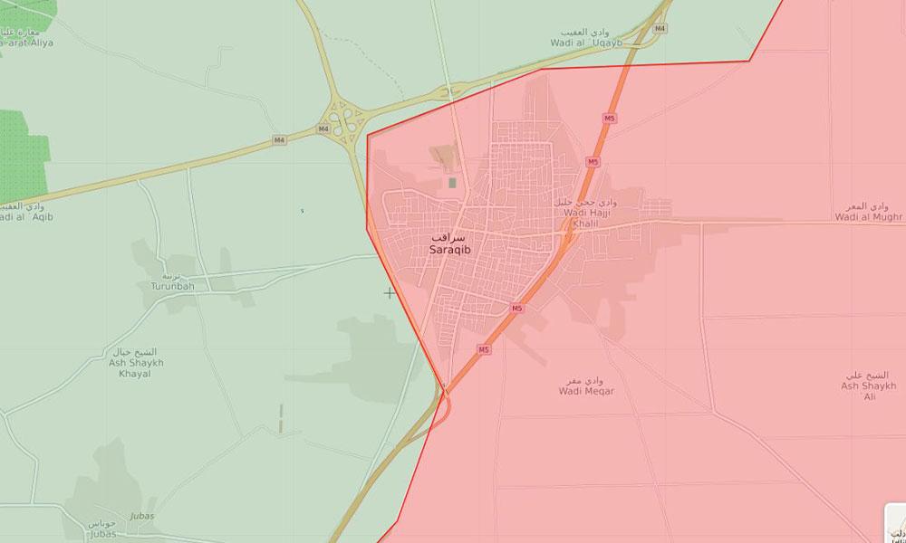 Flaş… Suriye ordusu Serakib'e girdi