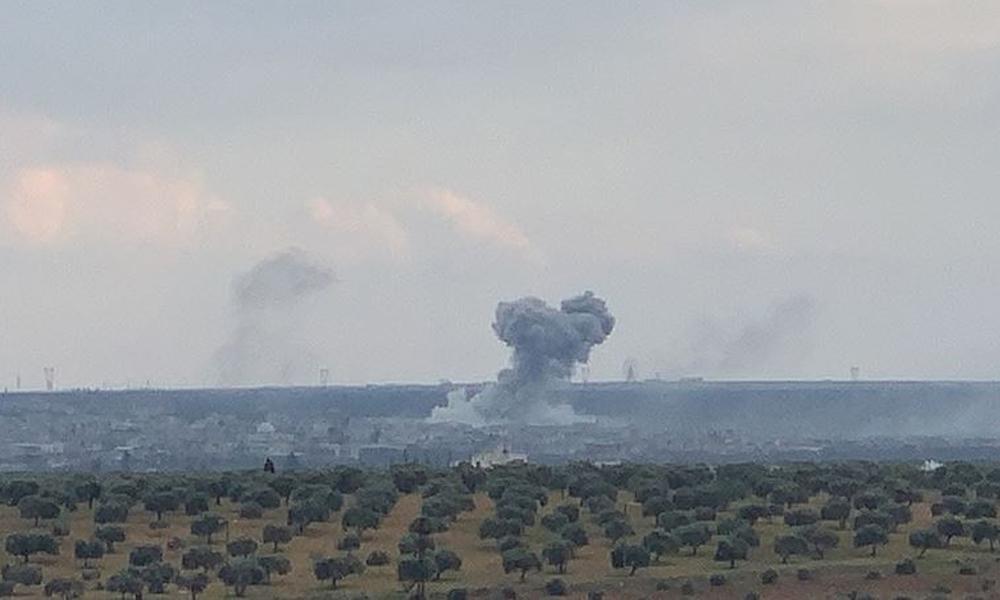 TSK, Halep'teki askeri havaalanını vurdu