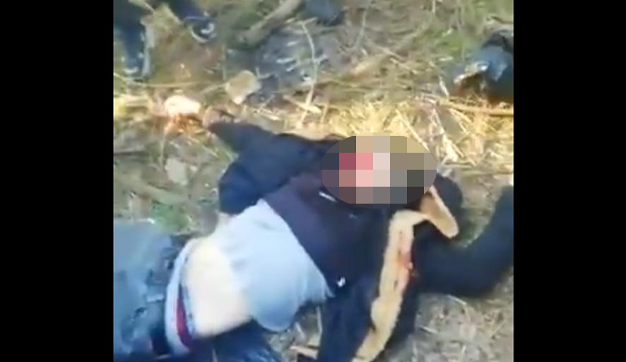 Yunanistan yalanlamıştı: Öldürülen Suriyeli göçmenin yeni görüntüleri ortaya çıktı