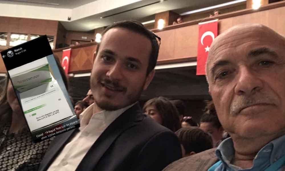 Bir test kiti rezaleti daha! AKP'li vekilin oğlundan karaborsa satış: 30 dolar