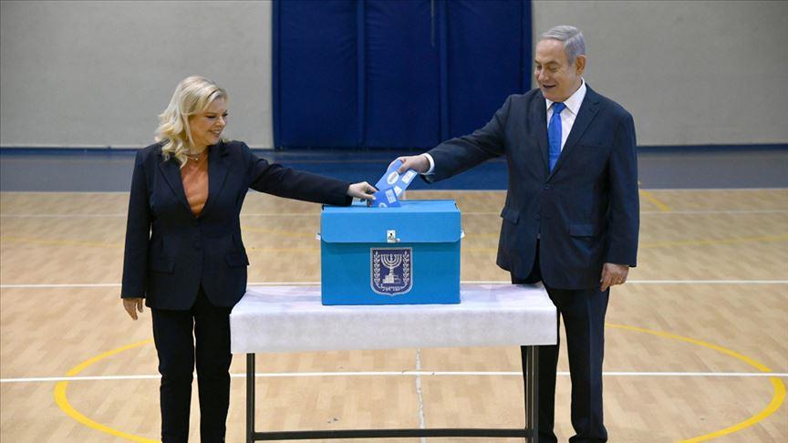 İsrail seçimlerinde Netanyahu'nun partisi birinci çıktı!