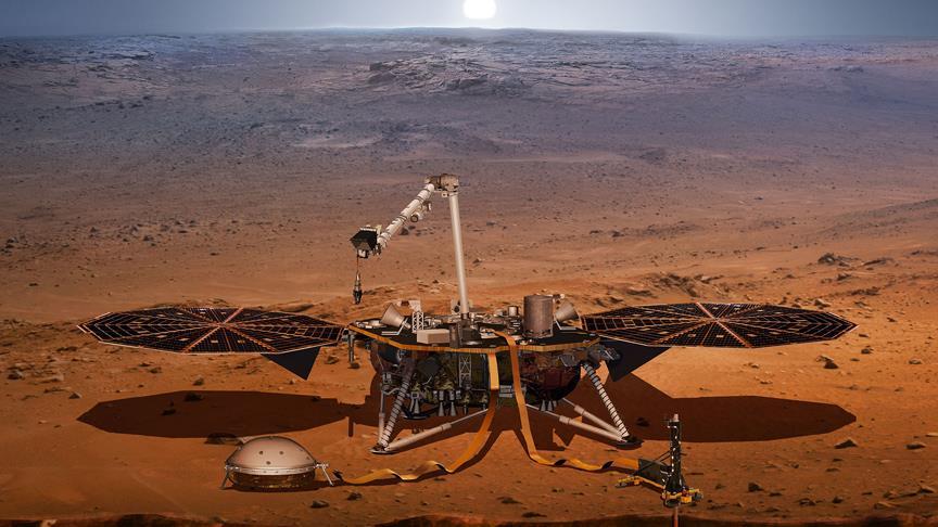 NASA'dan Mars için ev sahipliği yapabilir paylaşımı