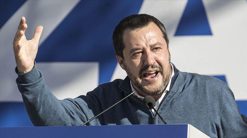 İtalya ana muhalefet lideri Salvini: Erdoğan'ın göçmen tehdidi çılgınlık