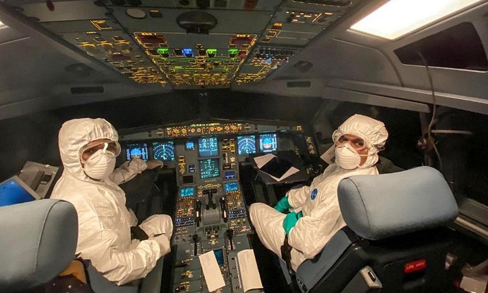 THY pilotuna koronavirüs teşhisi: 134 personelle temaslı olduğu anlaşıldı