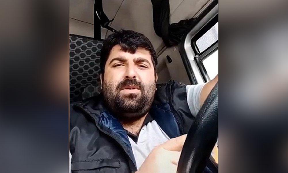 'Beni bu virüs değil, düzeniniz öldürür' dediği için gözaltına alınan TIR şoförü: Galiba işsiz kaldım…