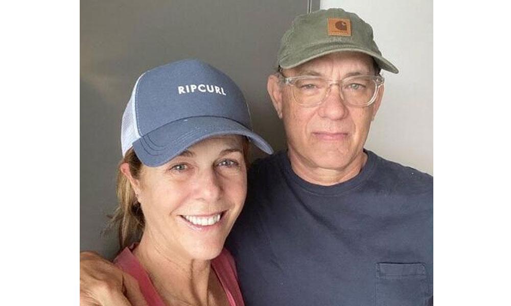Tom Hanks ve eşi Rita Wilson'dan iyi haber