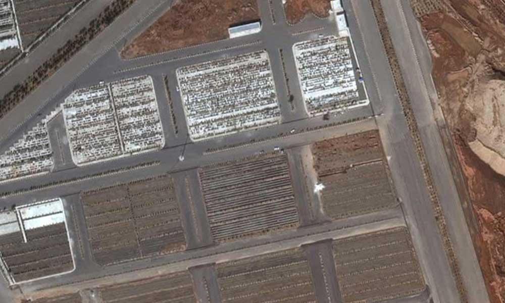 İran'ın koronavirüs toplu mezarları uzaydan görüntülendi