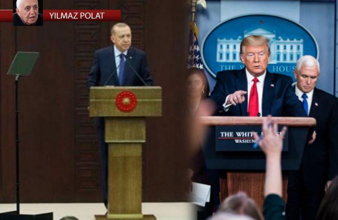 Trump ve Erdoğan'ın koronavirüsle mücadelesi ve iki resim