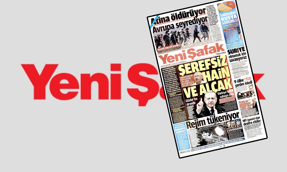 CHP'den Yeni Şafak'ın Engin 'Özkoç ve Erdoğan' manşetine tepki