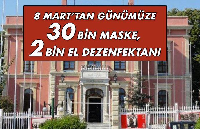Edirne Belediyesi ücretsiz maske, eldiven ve dezenfektan dağıtıyor