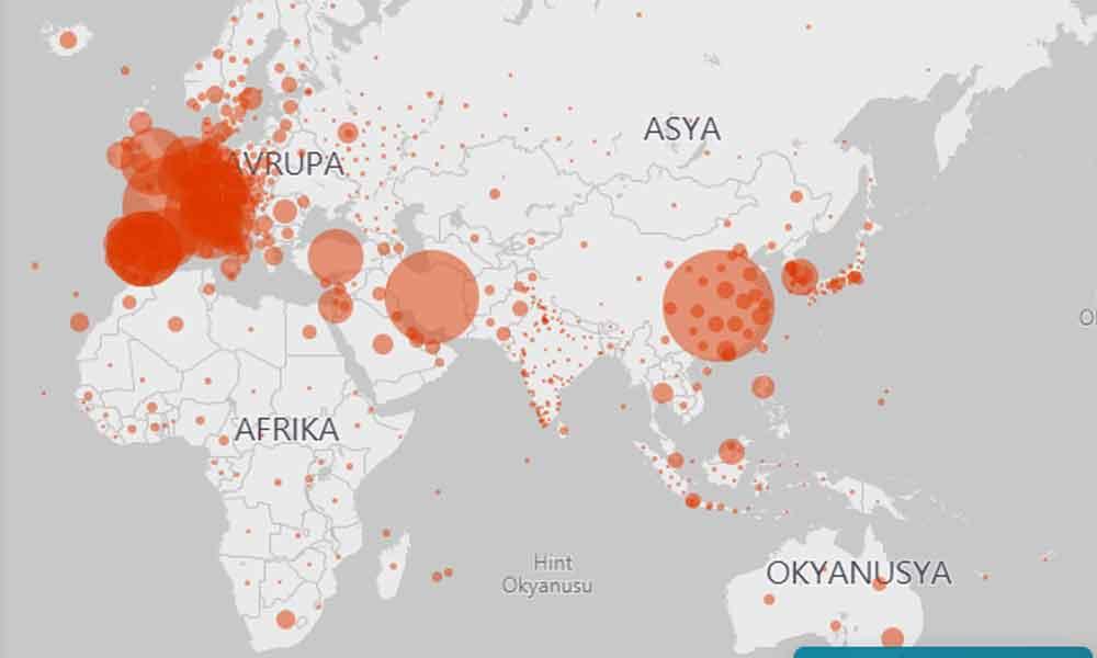 Dünya koronavirüs kıskacında… Virüs, sadece bu ülkelerde görülmedi!