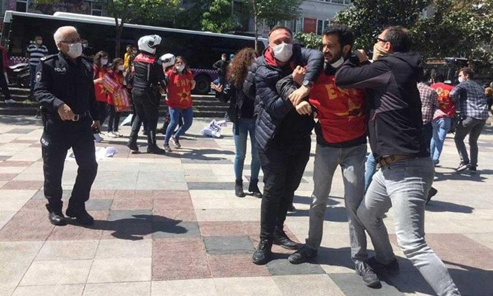 11 kişiye 1 Mayıs gözaltısı