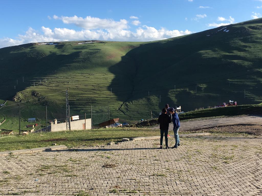 Atatürk'ün siluetinin görüldüğü köy karantinaya alındı