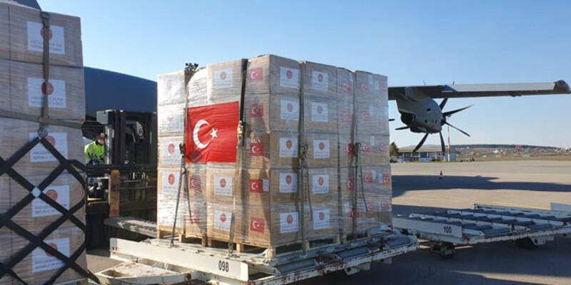 Türkiye'den Kosova'ya sağlık malzemesi yardımı