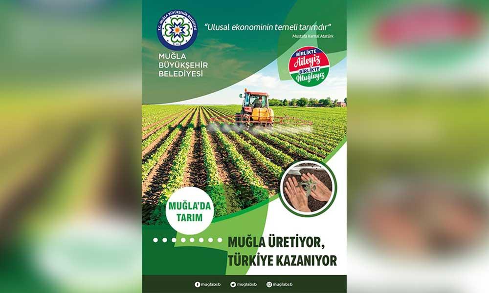 Muğla Büyükşehir Belediyesi yerli tohum dağıtmaya başladı
