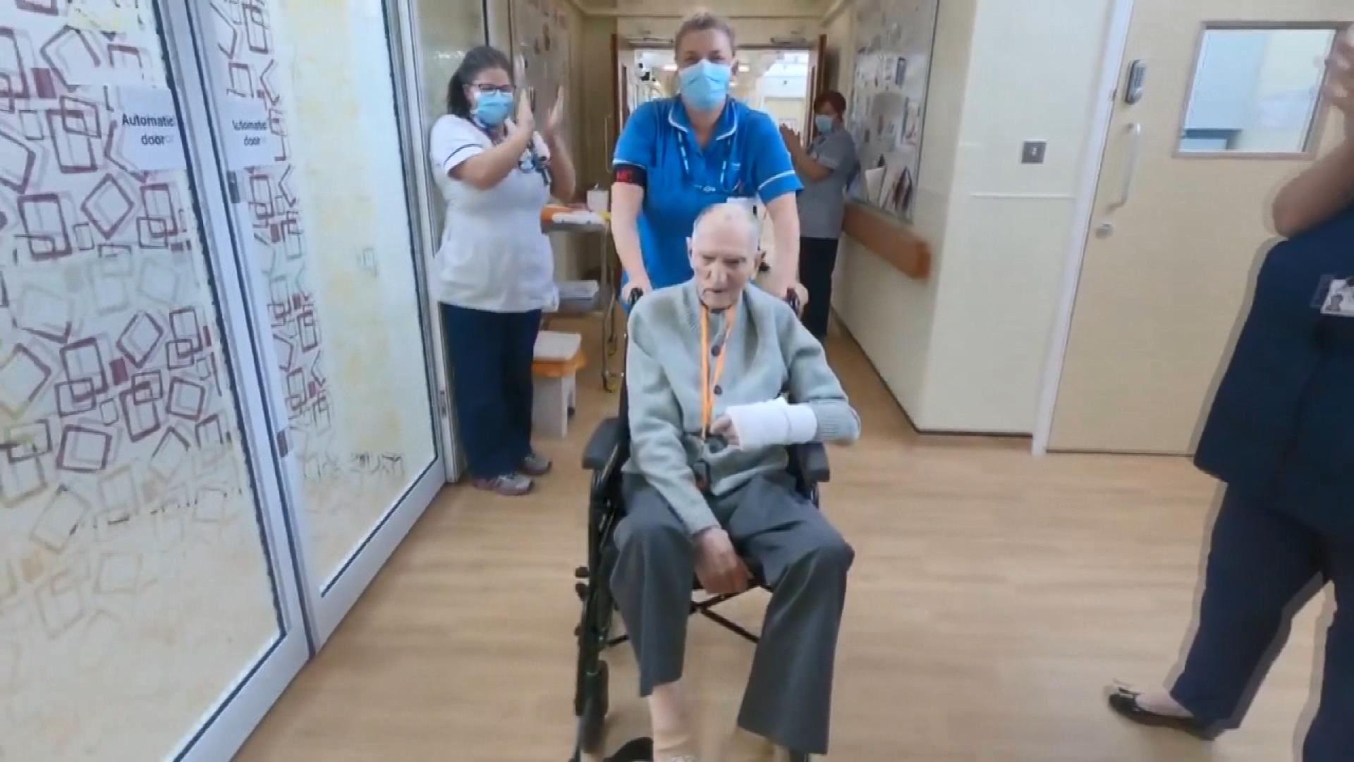 99 yaşındaki 2'inci Dünya Savaşı gazisi, koronavirüsü yendi