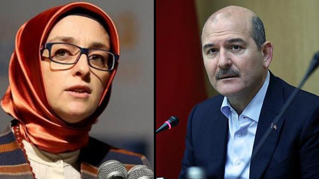 AKP Kadın Kolları Genel Başkanı'ndan Soylu'ya: 'Destursuz ayrılır ise…'