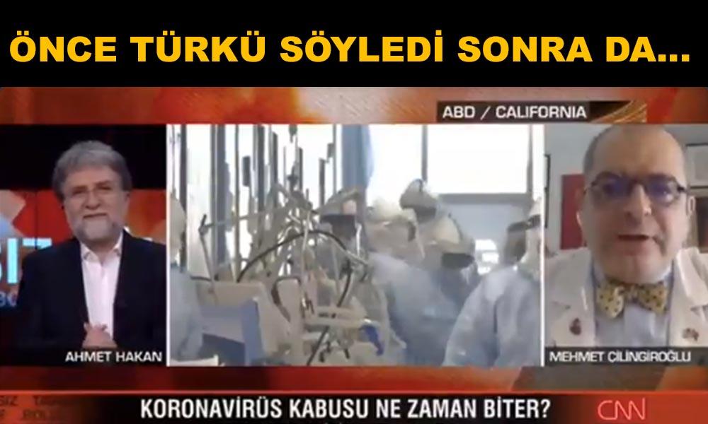Prof. Çilingiroğlu canlı yayında Ahmet Hakan'a seslendi: Atatürkçüyüm, dinciyim deme