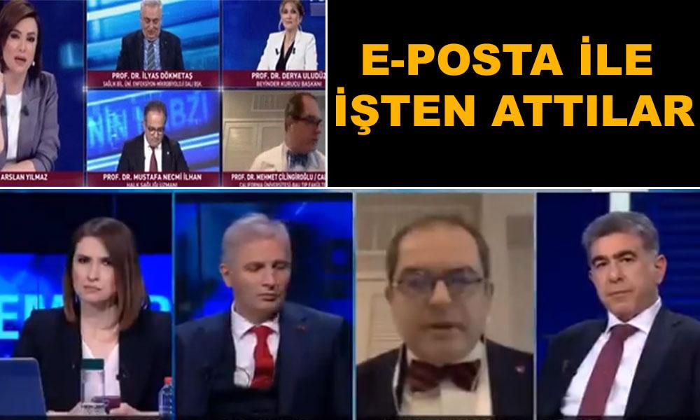 Didem Arslan'la tartışmıştı…. Prof.  Çilingiroğlu üniversiteden kovuldu