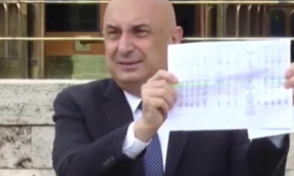 Engin Özkoç belgelerle ispat etti: Fahrettin Altun'un 'kaçak arazisinde' saat detayı