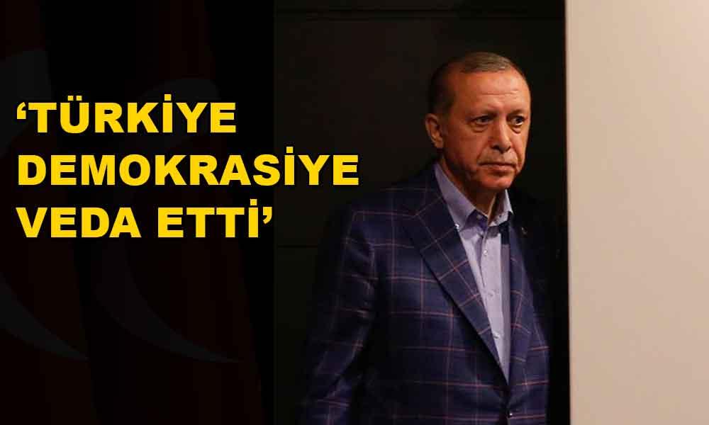 Türkiye demokrasiye veda etti!
