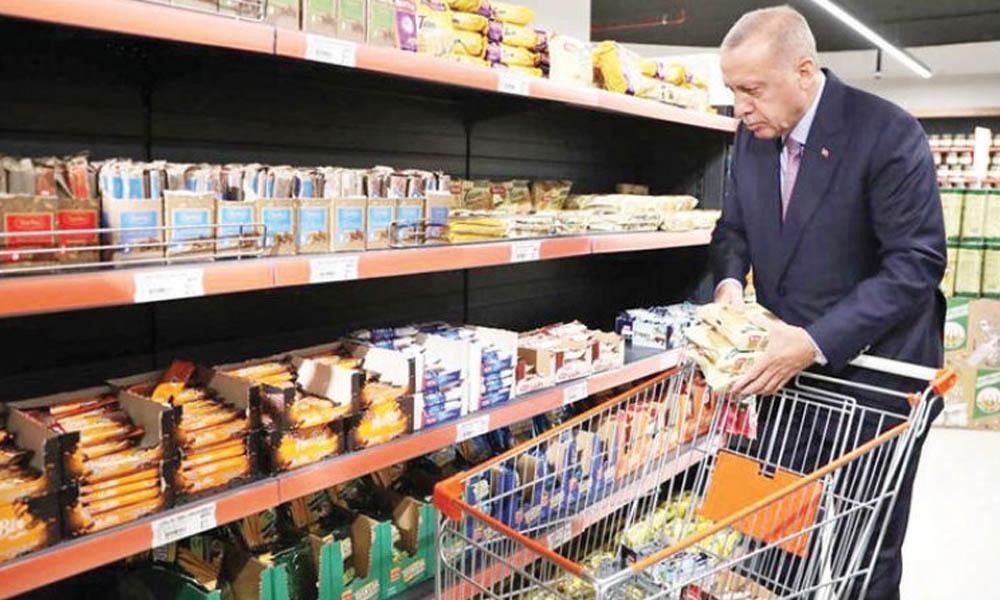 Erdoğan'ın market projesine hileli gıdadan ceza alan isim atandı