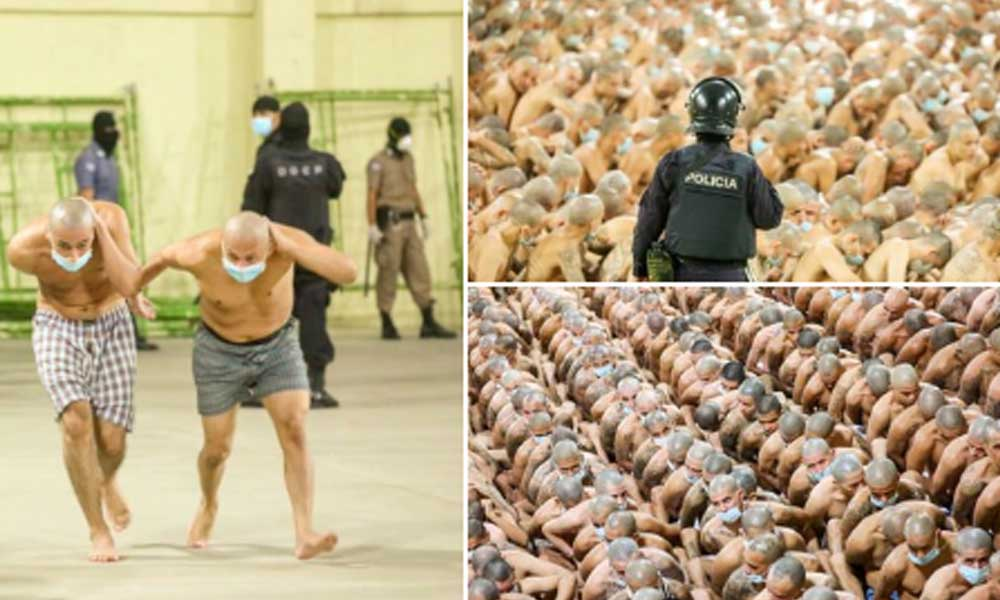 Dünya şokta! Hapishanede dehşete düşüren görüntüler