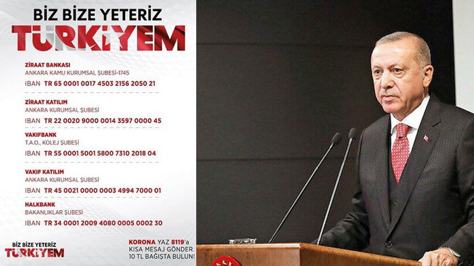 Erdoğan'ın kampanyasına 'en az bir yevmiye' zorunlu bağış talimatı!