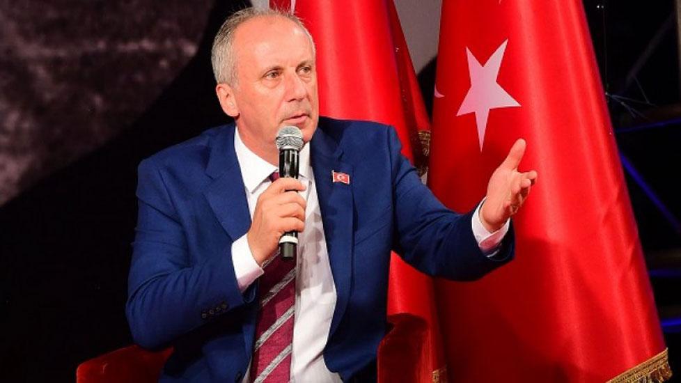 Muharrem İnce'den istifa tepkisi: Tam bir saray tiyatrosu