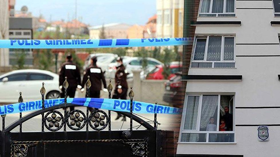 Kapıcı koronavirüse yakalandı, 8 katlı bina karantinaya alındı
