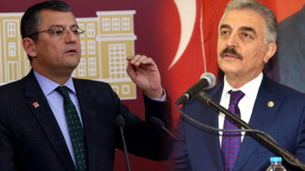 MHP'den Özgür Özel'e tehdit